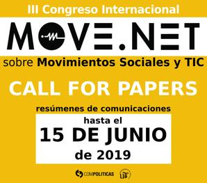 CFP - III Edición del Congreso Move.net 2019
